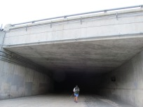 Going under HWY 15