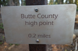 PCT goes through our home county of Butte!