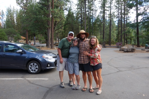 Ran into our friends, Lyn and Ken, at Burney Falls! The benefits of living close to the trail.