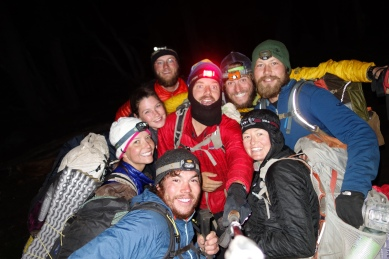 The crew starting at midnight! (Poison, Wild Card, ET, Thigh Gap, Star Rider, Sparkle Motion, Dawn Patrol, Indy