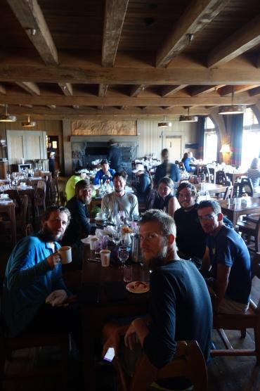 Celebration breakfast buffet at Timberline Lodge