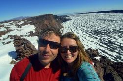 The top of Mauna Loa