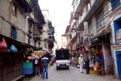 Typical scene in Kathmandu