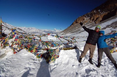 Thorong La Pass (Elevation 17,769 ft)