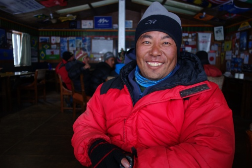 Lhakpa was the leader for an international crew of folks we met along the way.