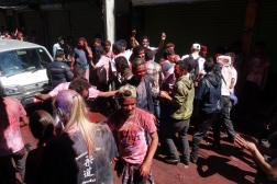 Dance party in the street