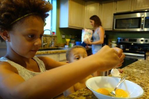 Word family potato pancakes!