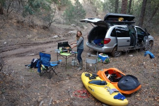 Getting our car camping on