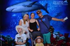 Tampa Aquarium with Family