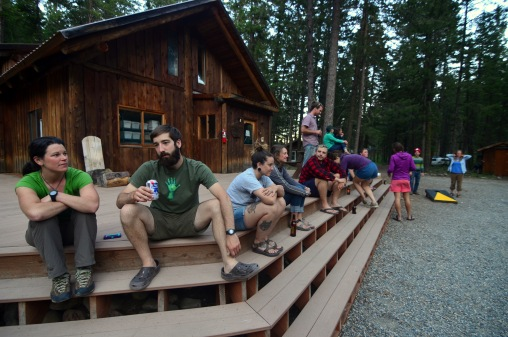 Outward Bound base in Mazama, WA